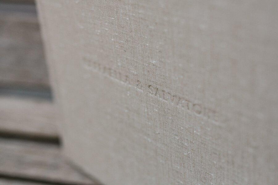 Nomi sposi in letterpress